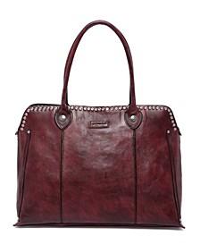 Soul Stud Leather Satchel Bag