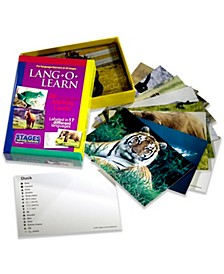 Lang-O-Learn ESL Vocabulary Cards Flashcards, Animals