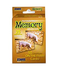 - Picture Memory Card Game - On The Farm