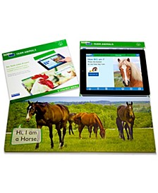 Linf4fun Farm Animals Interactive Board Book With Free iPad App