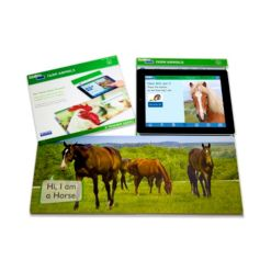 Stages Learning Materials Linf4fun Farm Animals Interactive Board Book With Free iPad App