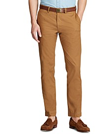 Men's Slim Fit Cotton Stretch Twill Pants