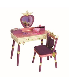 Wildkin Princess Vanity Table and Chair Set