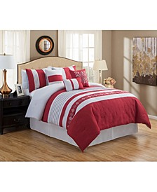 Rachita 7 Piece Comforter Set, Queen