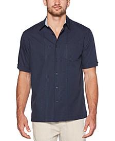 Men's Mini Dobby Polka Dot Cotton Shirt