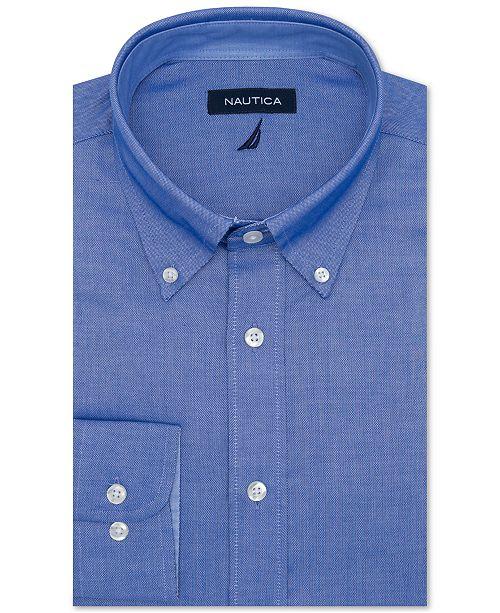 Men S Classic Regular Fit Comfort Stretch Wrinkle Free Solid Dress Shirt