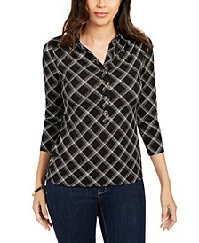 Plaid Polo Shirt, Created for Macy's