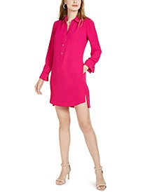 Welwood Long-Sleeve Shirt Dress