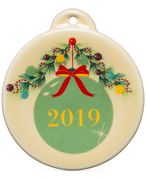 Fiesta Christmas Tree 2019 Meadow Ornament