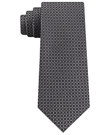 Kenneth Cole Reaction Men's Classic Iridescent Geo Tie