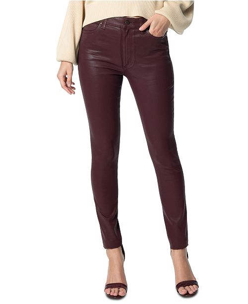 Joe's Jeans Charlie Faux-Leather Jeans