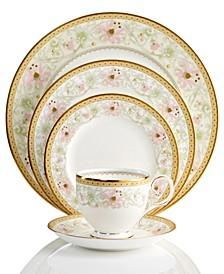 Dinnerware, Blooming Splendor 5 Piece Place Setting