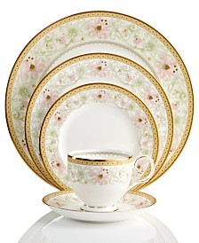 Noritake Dinnerware, Blooming Splendor 5 Piece Place Setting