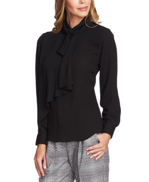 Vince Camuto Tops RUFFLED TIE BLOUSE