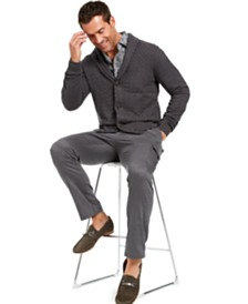 Tasso Elba Men's Gray Matters Look, Created for Macy's