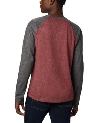Long Sleeve Columbia Men/'s Thistletown Park Raglan Shirt Sun Protection