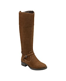 Leigh Wide Calf Riding Boots