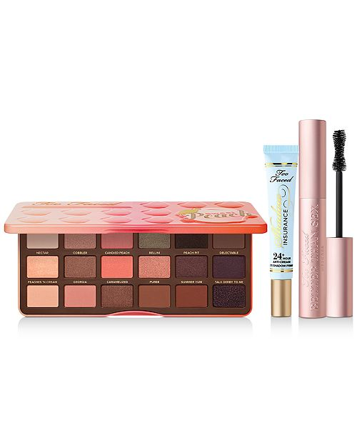 Too Faced I Want Sex & Peaches 3-Pc. Set