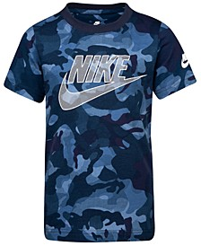 Toddler Boys Camo-Print Cotton T-Shirt