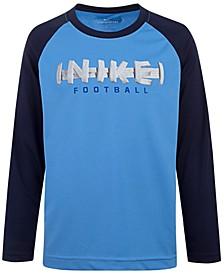 Little Boys Football-Print T-Shirt