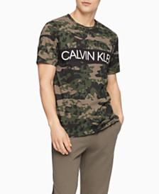 Calvin Klein Men's Camo Cotton T-Shirt