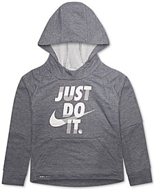 Little Boys Just Do It Hoodie