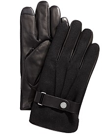 Polo Ralph Lauren Men's Melton Hybrid Touch-Screen Gloves