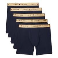 5-Pack Tommy Hilfiger Men's Cotton Classics Boxer Briefs