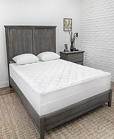 CLOSEOUT! Quilted Zip-n-Clean Mattress Pad Collection