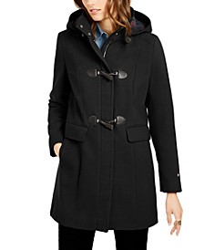Hooded Toggle Coat, Created for Macy's