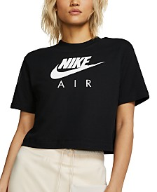 Nike Air Cotton Cropped Top