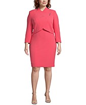 Pink Plus Size Suits - Macy\'s