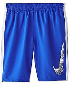 Big Boys Colorblocked Volley Shorts Swim Trunks