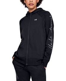 Under Armour Rival Zip Fleece Hoodie