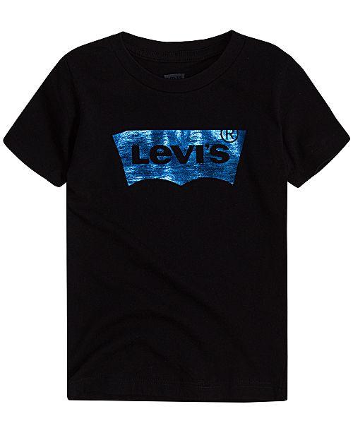Levi's Big Boys Foil Batwing Logo Graphic T-Shirt