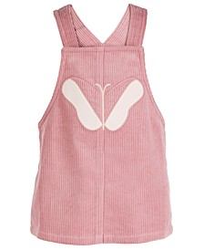Baby Girls Butterfly Cotton Corduroy Jumper, Created for Macy's