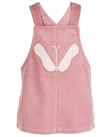 First Impressions Baby Girls Butterfly Cotton Corduroy Jumper, Created for Macy's