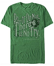 Men's Classic Yoda Do Or Do Not Short Sleeve T-Shirt