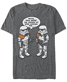 Star Wars Men's Classic Stormtroopers Those Were The Droids We Were Looking for Short Sleeve T-Shirt