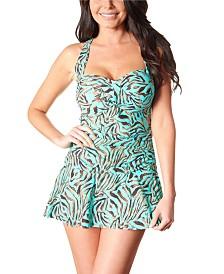 Carol Wior Sweetheart Neckline Swim Dress