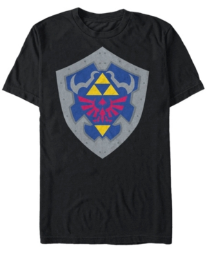 Nintendo Men's The Legend of Zelda Simple Shield Short Sleeve T-Shirt