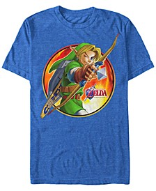 Men's Legend of Zelda Archer Link Short Sleeve T-Shirt