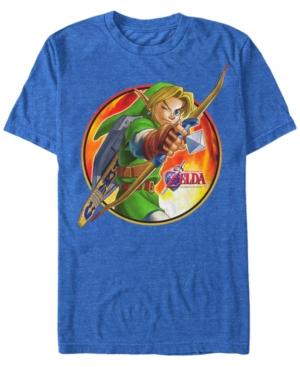 Nintendo Men's Legend of Zelda Archer Link Short Sleeve T-Shirt