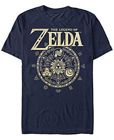 Men's Legend of Zelda Magic Circle Vector Short Sleeve T-Shirt