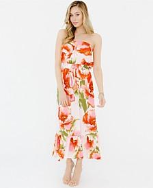 Plum Pretty Sugar Strapless Flounce Dress