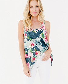 Plum Pretty Sugar Soren Twist Back Tank