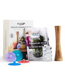 Masontops 9 pieces Wide Mouth Fermentation Kit