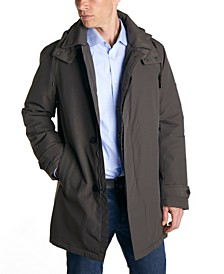 Men's Water Resistant Fashion Overcoat