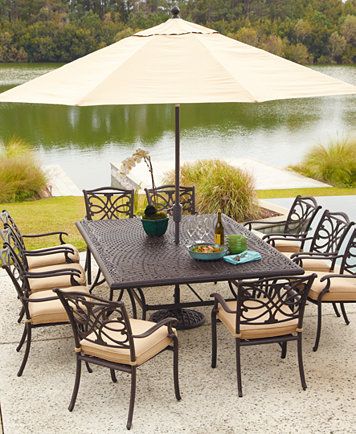 Kingsley Cast Aluminum Outdoor Dining Chair