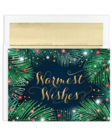 Palms & Lights Holiday Boxed Card